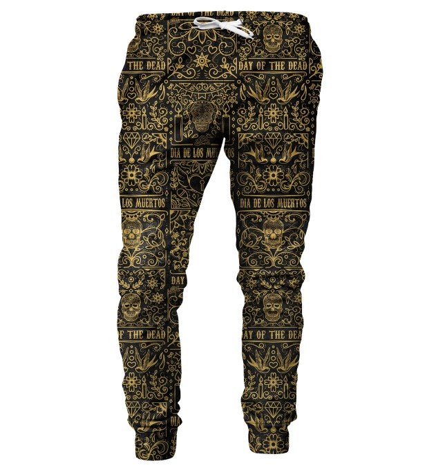 Day of Dead mens sweatpants Miniature 2