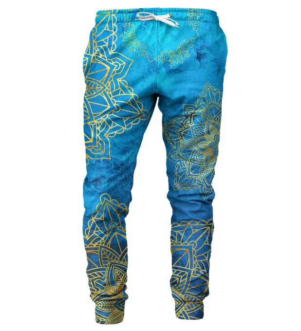 Gold Boho mens sweatpants Miniature 1