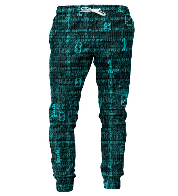 Binary mens sweatpants Miniature 1