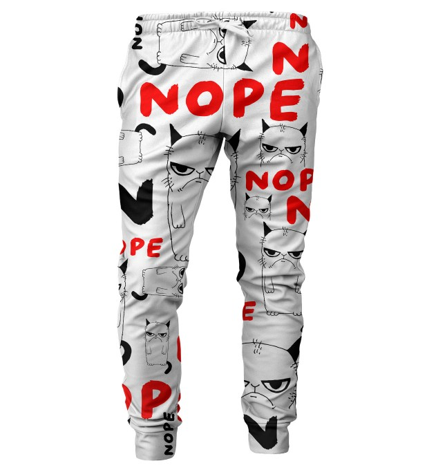 Grumpy Nope mens sweatpants Thumbnail 1