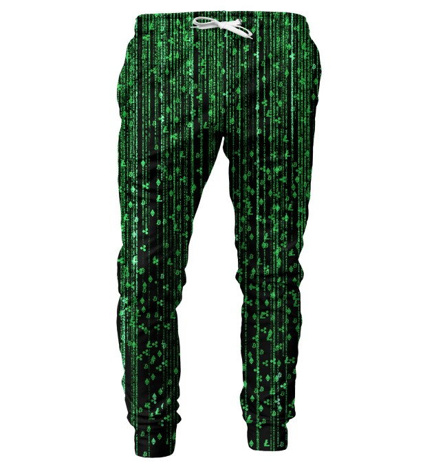 Cryptocurrencies mens sweatpants Miniatura 1