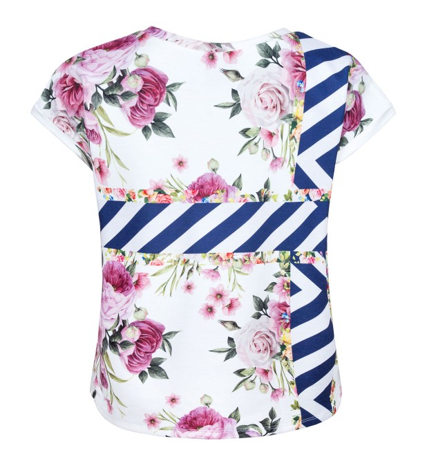 Cut Flowers butterfly t-shirt Thumbnail 2