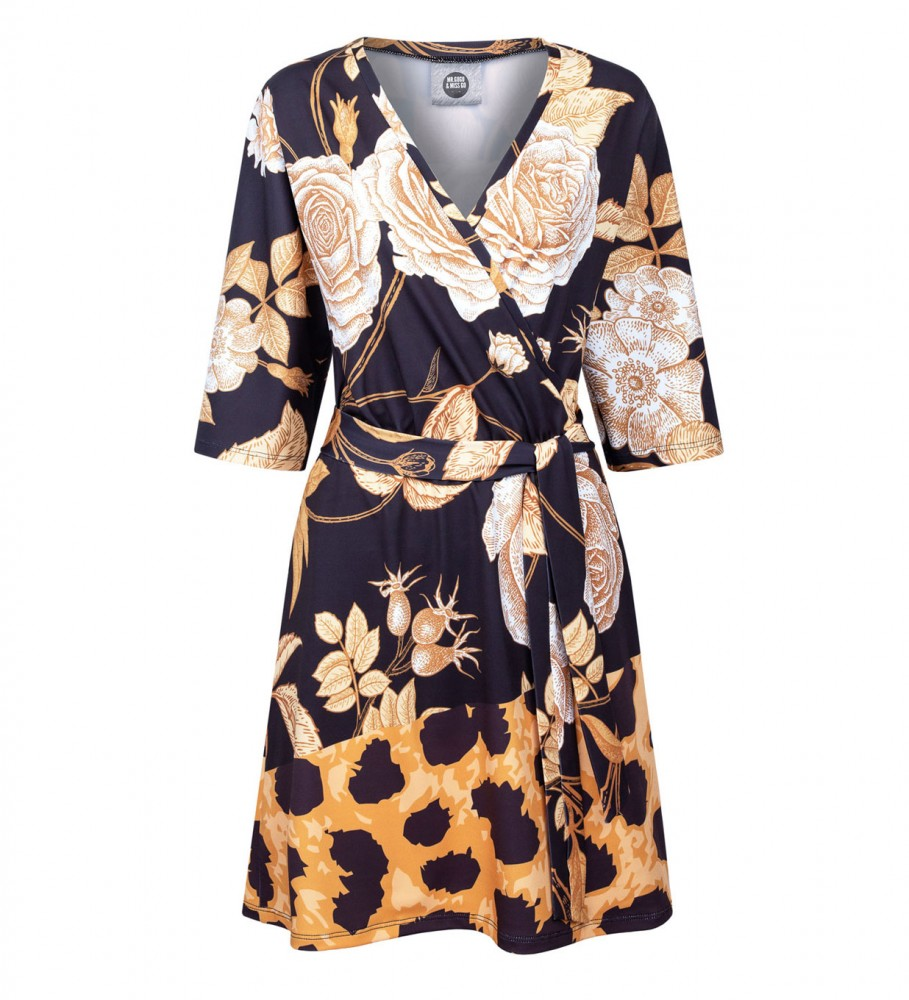 Mr. Gugu & Miss Go, Panther without spikes envelope dress Image $i