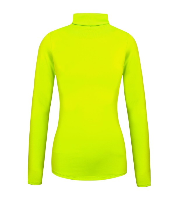 Fluo green turtleneck Thumbnail 2