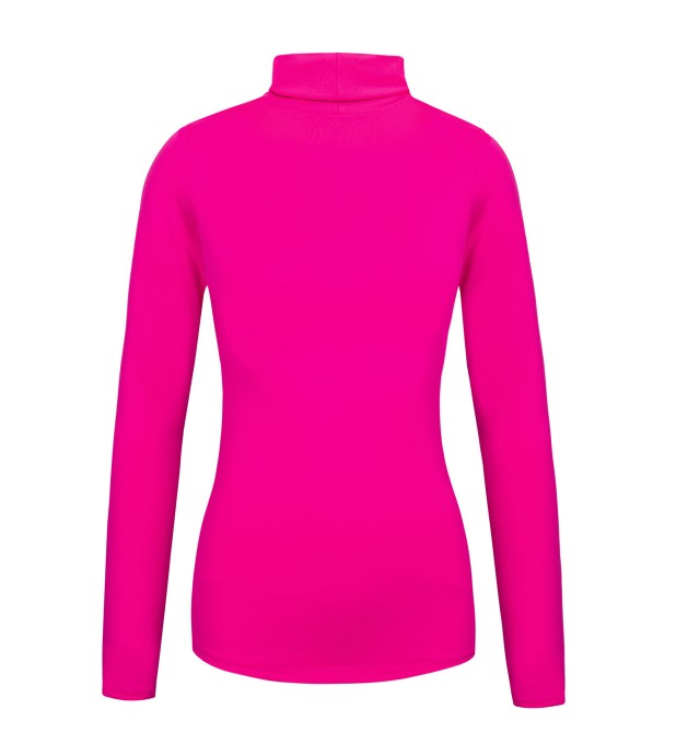 Fluo pink turtleneck Miniature 2