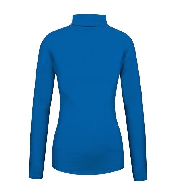 Pastel cobalt turtleneck Miniature 2