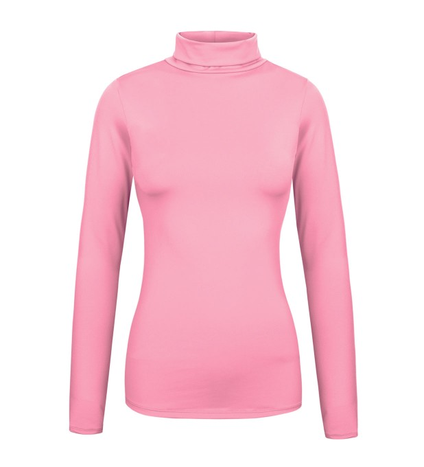 Pastel pink turtleneck Miniature 1