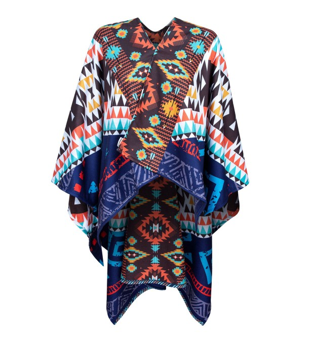 Aztec World poncho Miniature 1