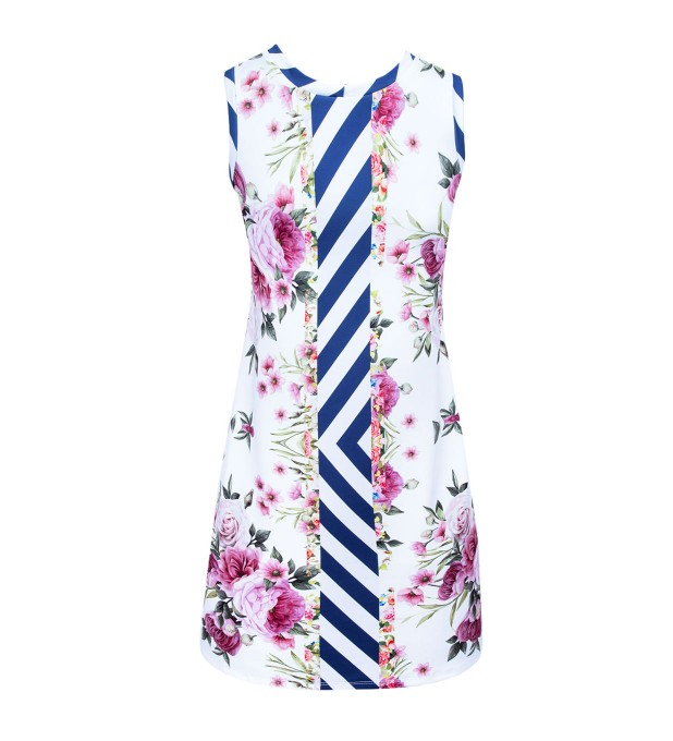 Cut Flowers tank top dress Thumbnail 2