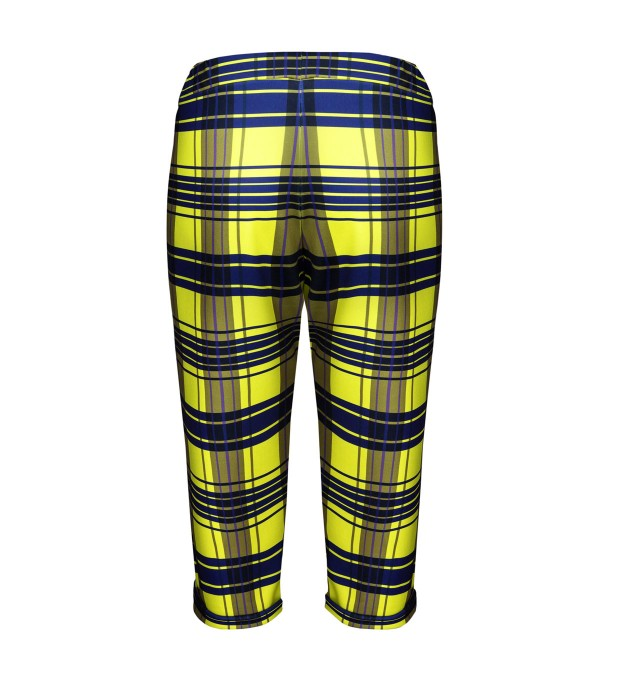 Yellow check trousers Thumbnail 2