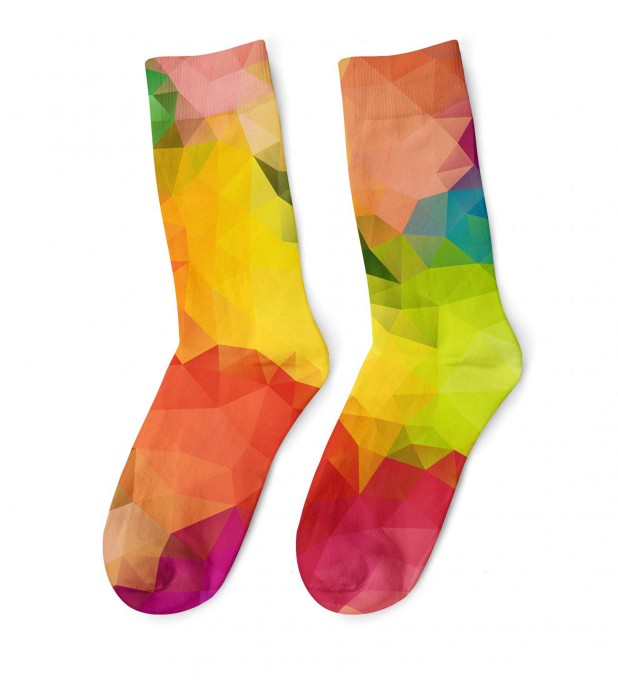 Colorful Geometric midi socken Miniaturbild 1