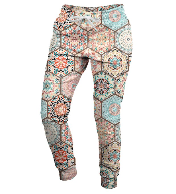 Pattern womens sweatpants Thumbnail 2