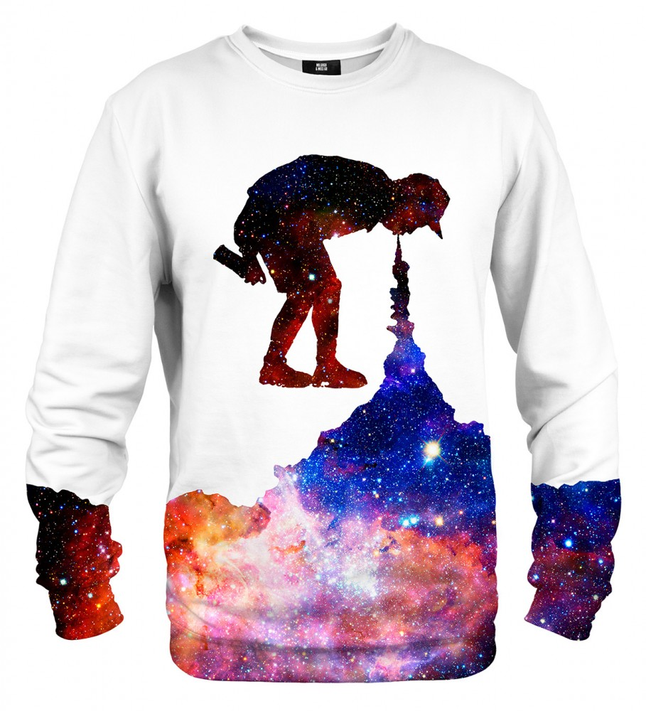 Mr. Gugu & Miss Go, Galaxy Painter sweater Фотография $i