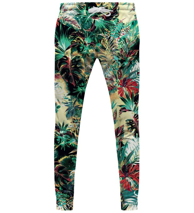 Tropical Jungle womens sweatpants Thumbnail 1
