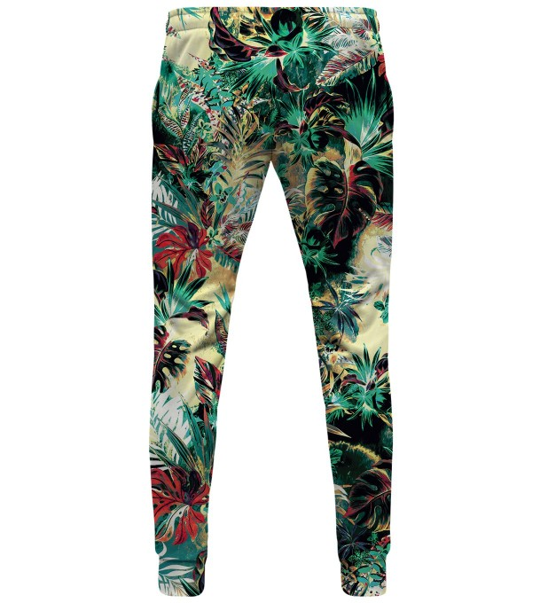Tropical Jungle womens sweatpants Thumbnail 2