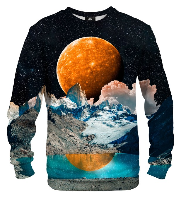 Orange Moon sweatshirt Miniaturbild 1