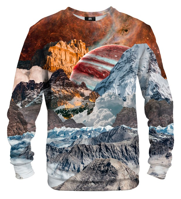 Mountain Galaxy sweatshirt Miniaturbild 1