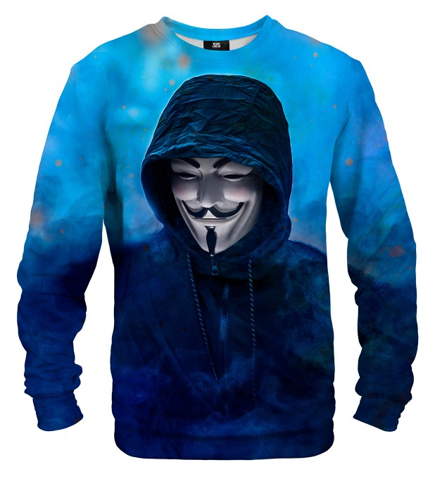 Anonymous Blue sweater Miniatura 2
