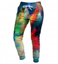 Mr. Gugu & Miss Go, Colorful Space womens sweatpants Miniatura $i