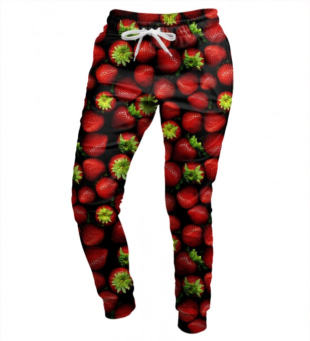 Strawberries damen hosen Miniaturbild 1