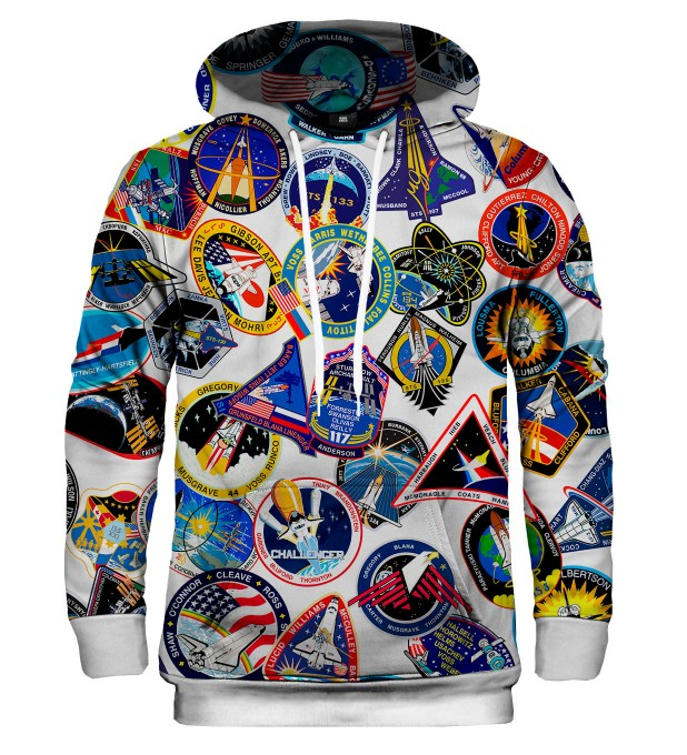 Bluza z kapturem Nasa Stickers Miniatury 1