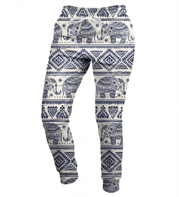 Elephants Pattern womens sweatpants Miniatura 1