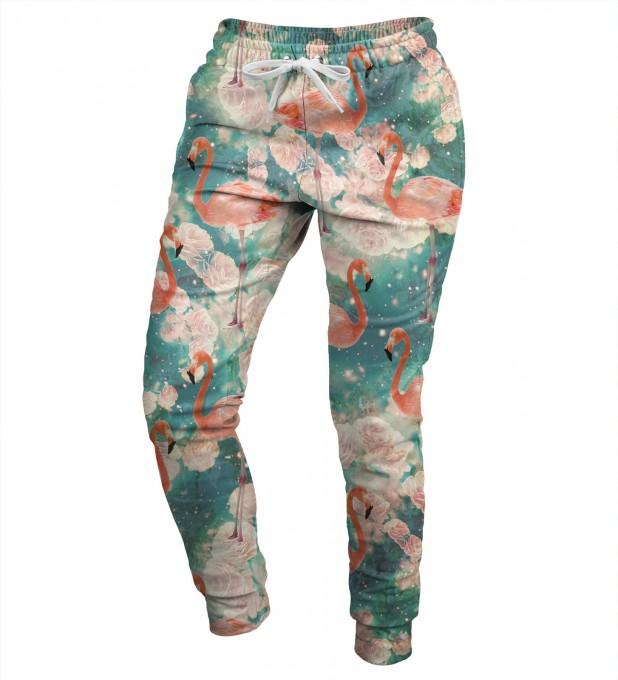 Flamingos womens sweatpants Miniatura 1
