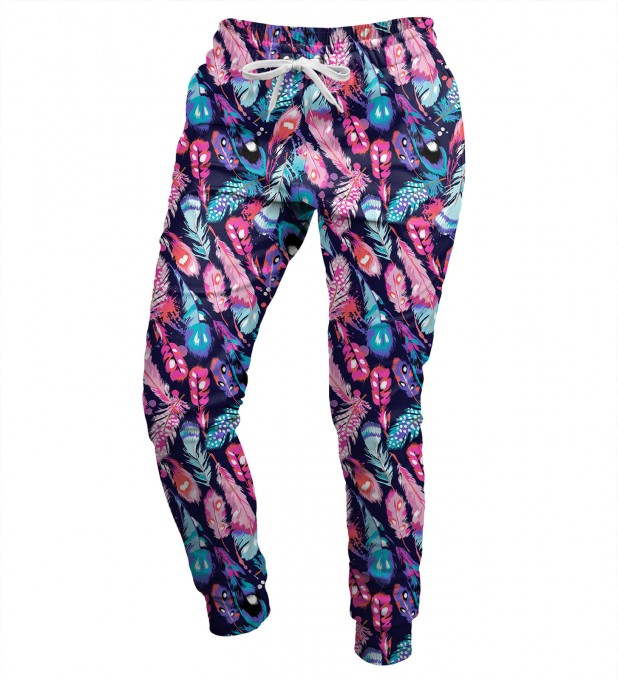 Colorful Feathers womens sweatpants Miniatura 1