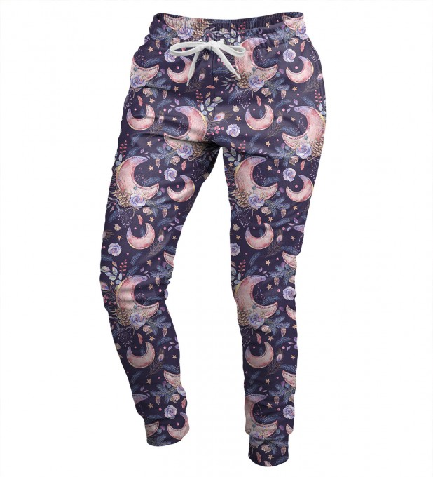 Moon Pattern womens sweatpants Miniatura 1
