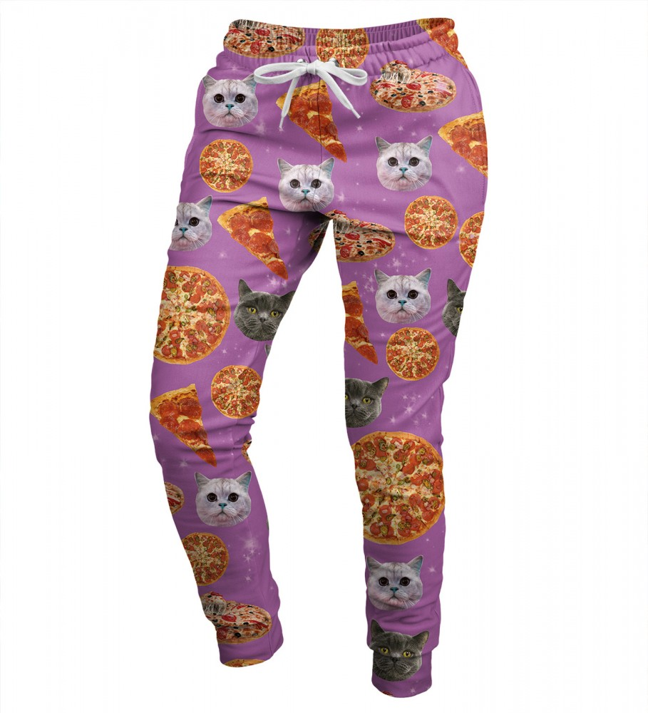 Mr. Gugu & Miss Go, Pizzacat womens sweatpants Image $i