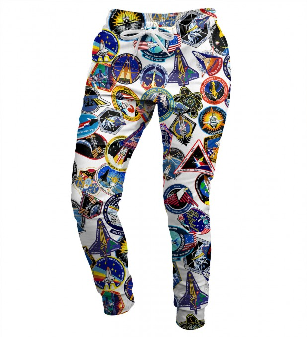 Nasa Stickers womens sweatpants Miniatura 1