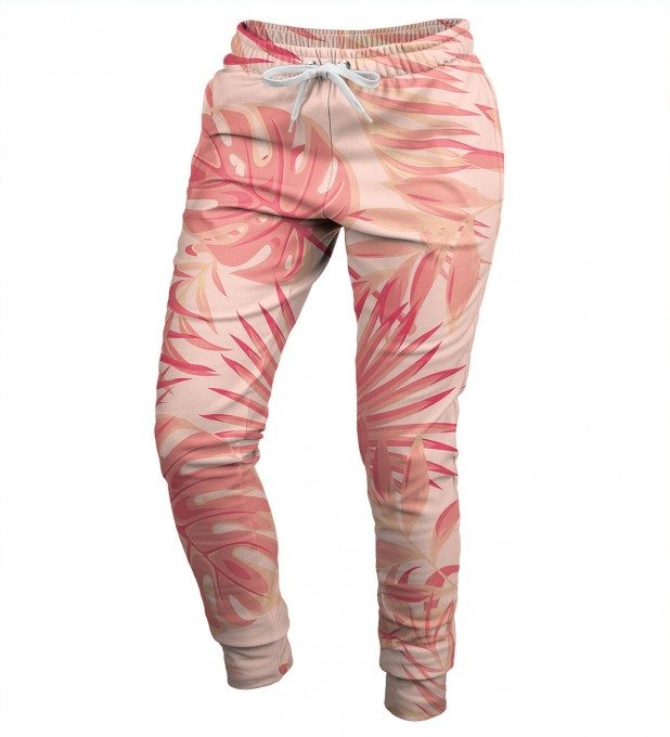 Tropical Pink womens sweatpants Miniature 1
