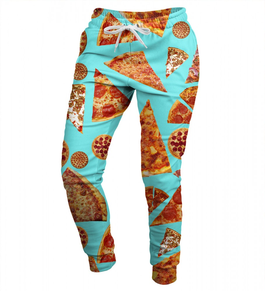Mr. Gugu & Miss Go, Pizza womens sweatpants Image $i