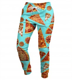 Mr. Gugu & Miss Go, Pizza womens sweatpants Thumbnail $i