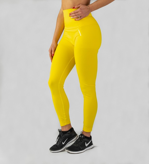 Yellow Model One seamless Leggings Miniature 1