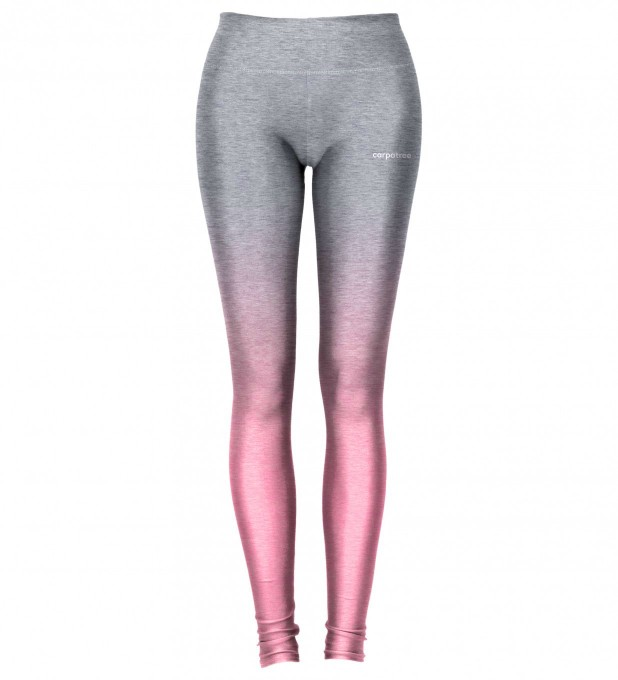 Grey Pink Ombre leggings Miniature 2