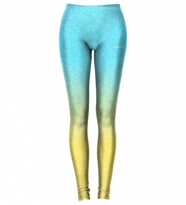 Sea Yellow Ombre leggings Miniature 2