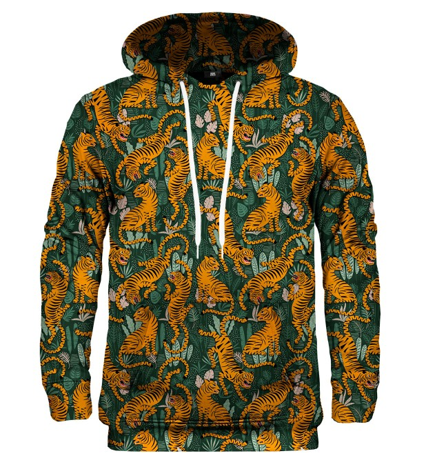 Jungle Tiger kapuzenpullover Miniaturbild 2