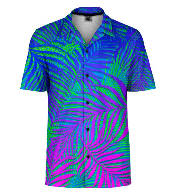 Blue Palm Shirt Thumbnail 1
