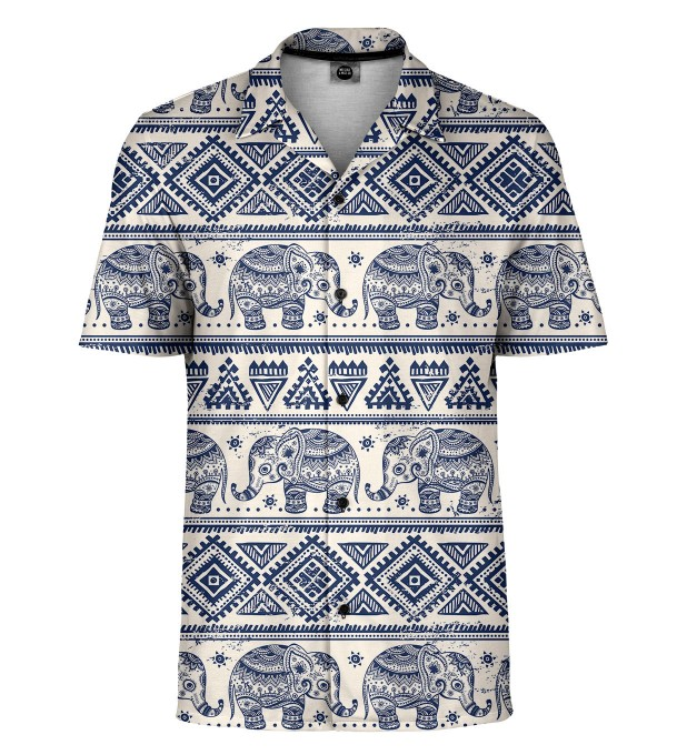 Elephants Pattern Shirt Thumbnail 1