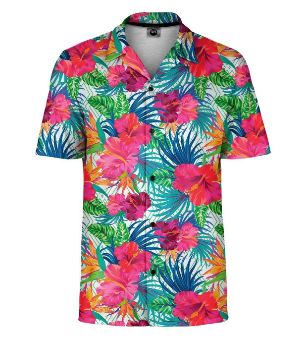 Jungle Flowers Shirt Miniature 1