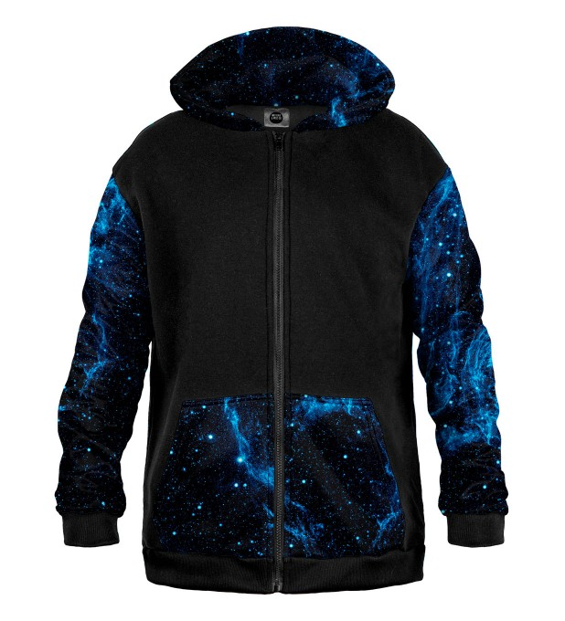 Cygnus Loop Cotton Zip Up Hoodie Thumbnail 1