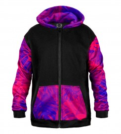 Mr. Gugu & Miss Go, Monstera Queen Cotton Zip Up Hoodie Thumbnail $i