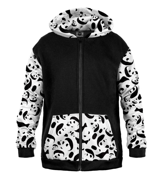 Pandemonium Cotton Zip Up Hoodie Miniatura 1
