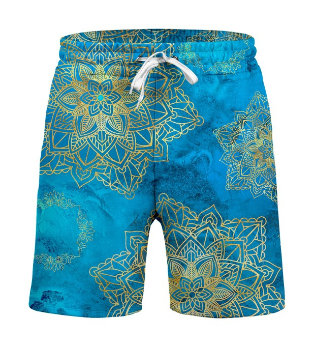 Gold Boho Shorts Miniature 1