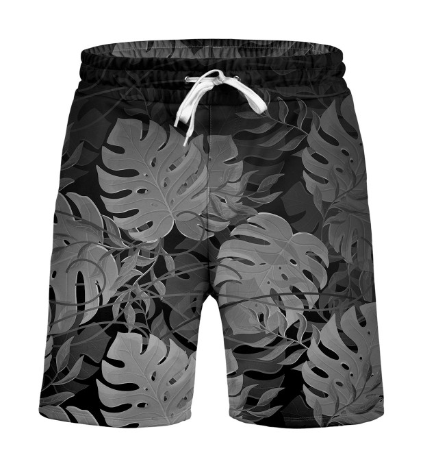 Monstera Black Shorts Miniature 1