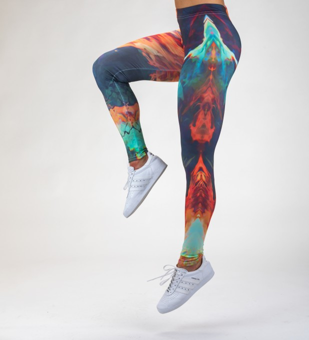 Sky is burning Leggings Miniature 1