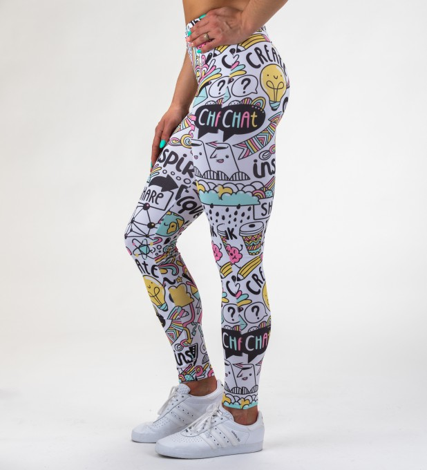 Head of Artist leggings Miniaturbild 1
