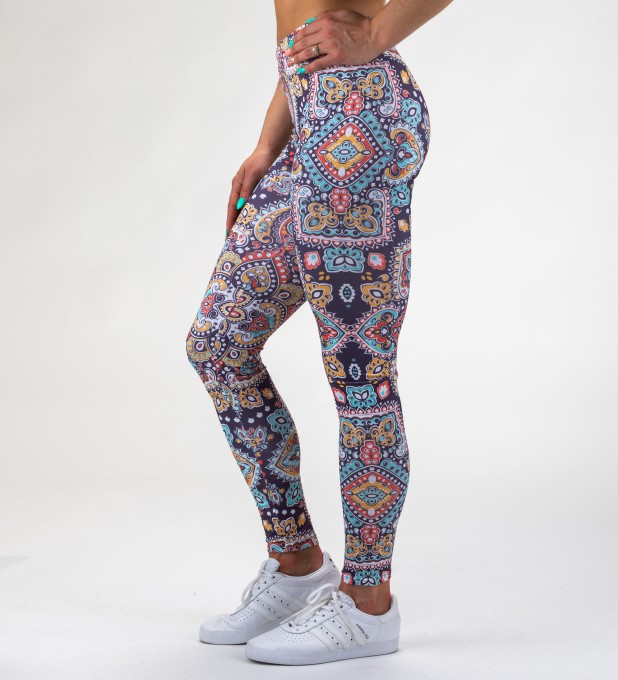 Regional Pattern Leggings Miniatura 1