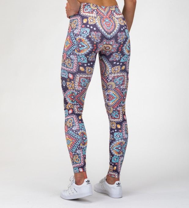 Regional Pattern Leggings Miniatura 2